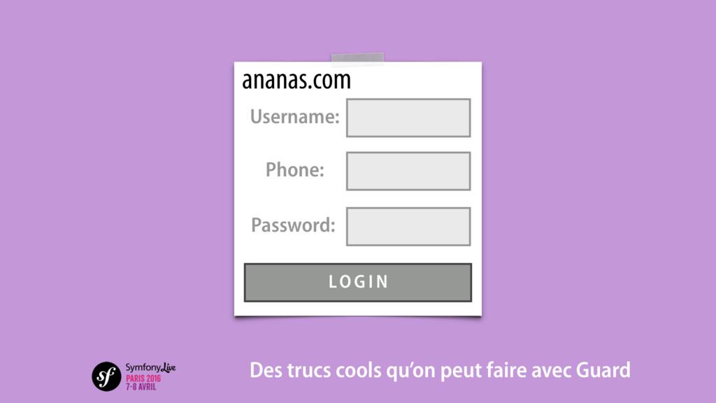 ananas.com Des trucs cools qu'on peut faire ave...