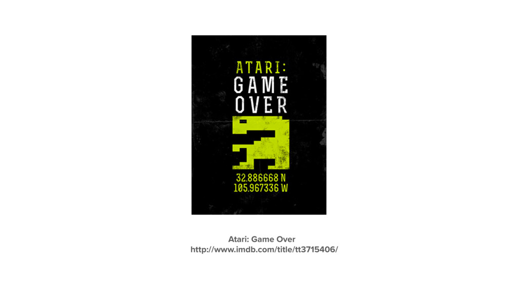Atari: Game Over