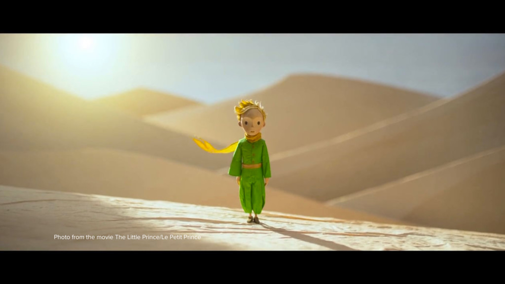 Photo from the movie The Little Prince/Le Petit...