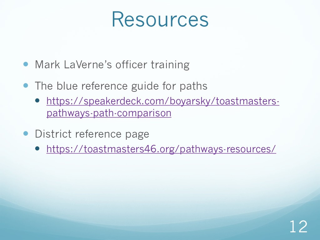 — Mark LaVerne's officer training — The blue ...