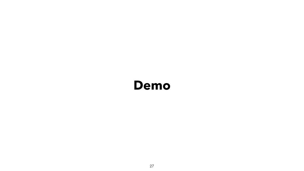 Demo 27