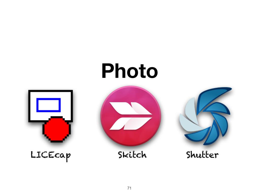 Photo LICEcap Skitch Shutter 71