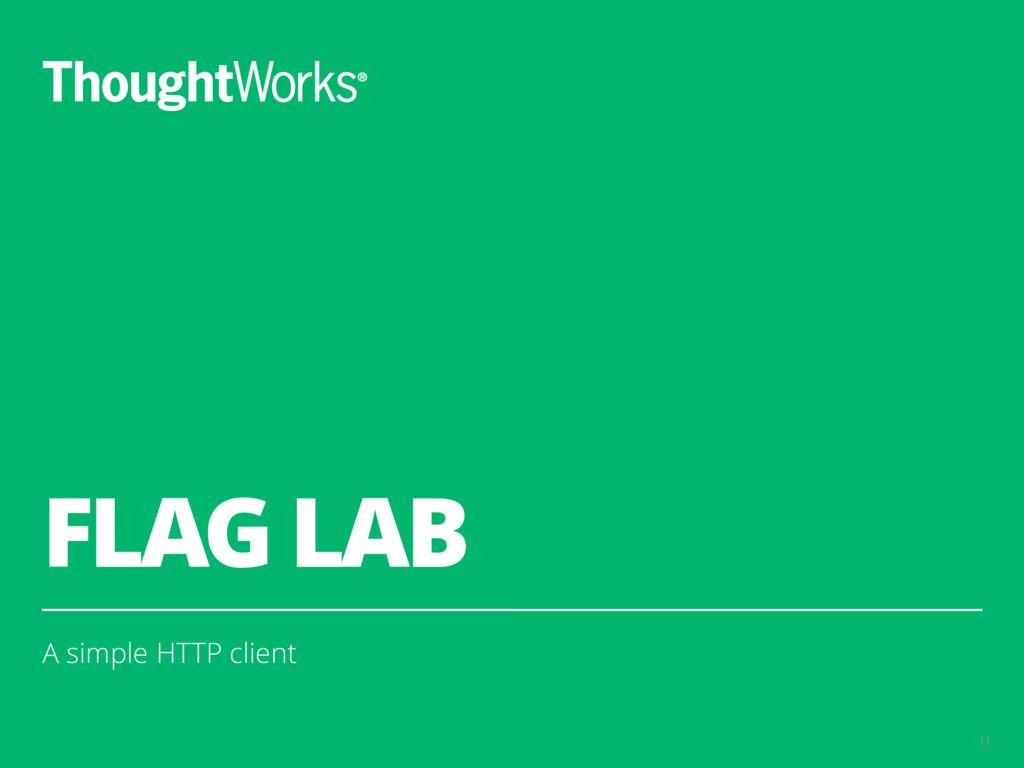 FLAG LAB A simple HTTP client 11