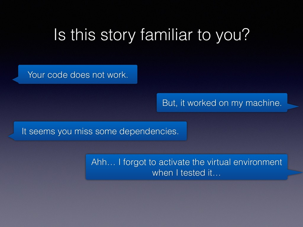 Is this story familiar to you? Your code does n...