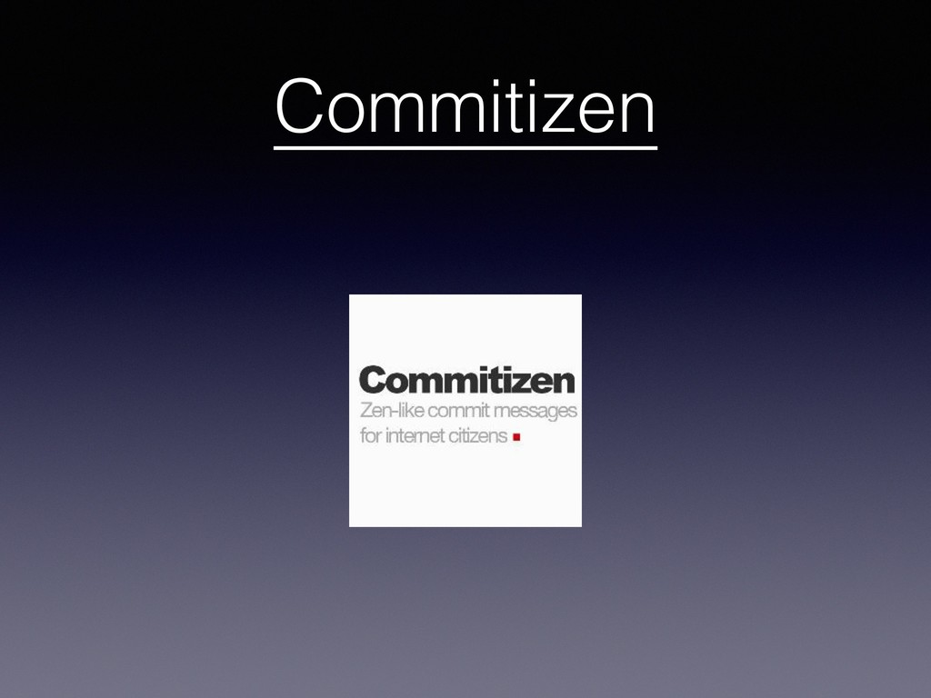 Commitizen