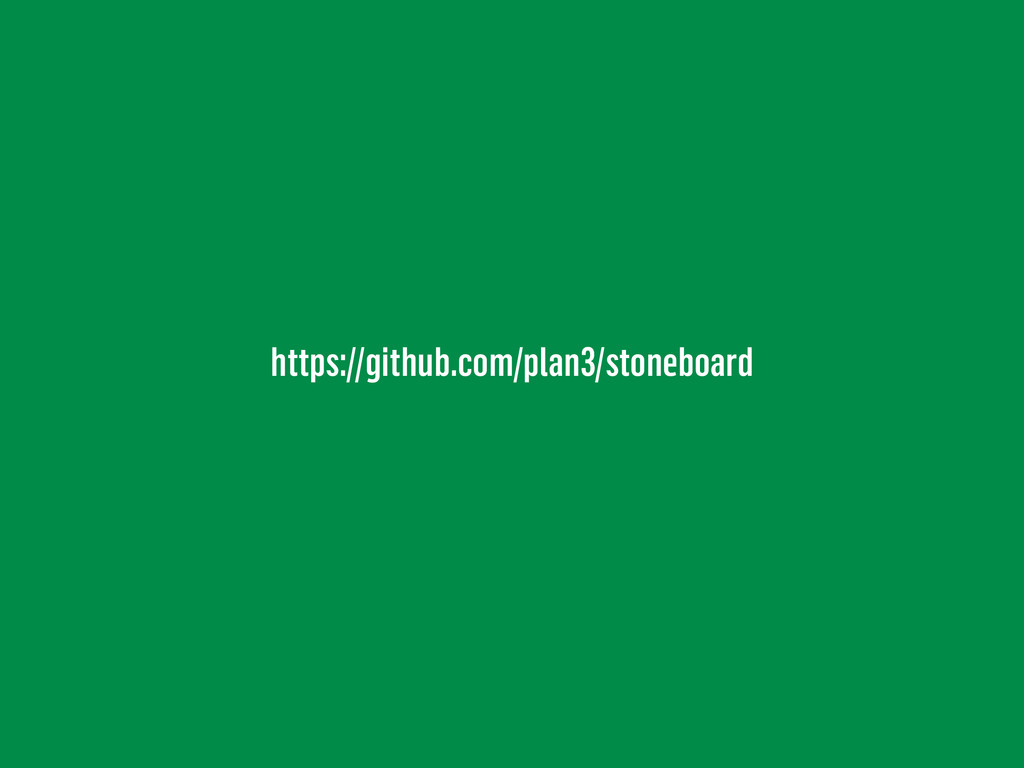 https://github.com/plan3/stoneboard