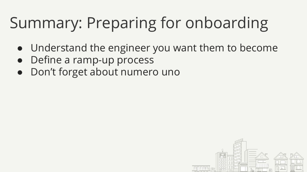● Understand the engineer you want them to beco...