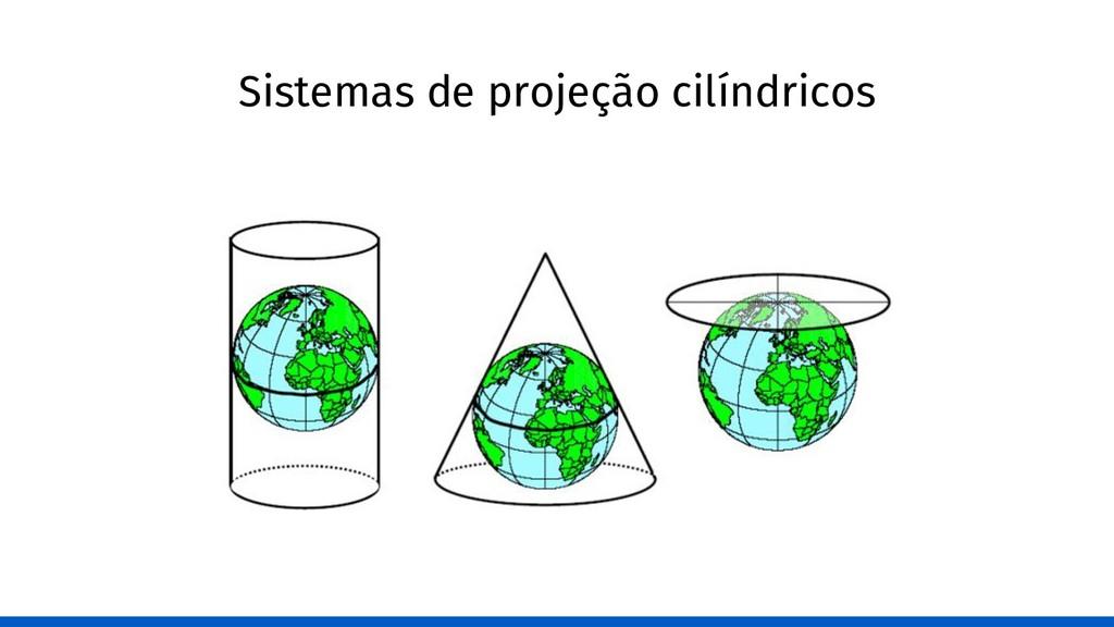 Sistemas de projeção cilíndricos
