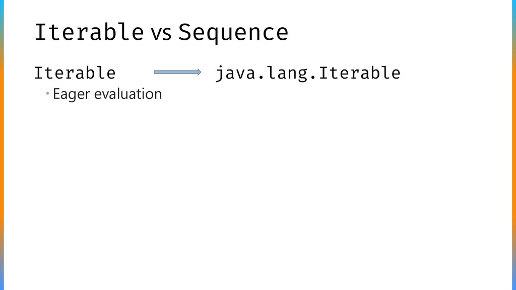 Iterable vs Sequence  Eager evaluation Iterabl...