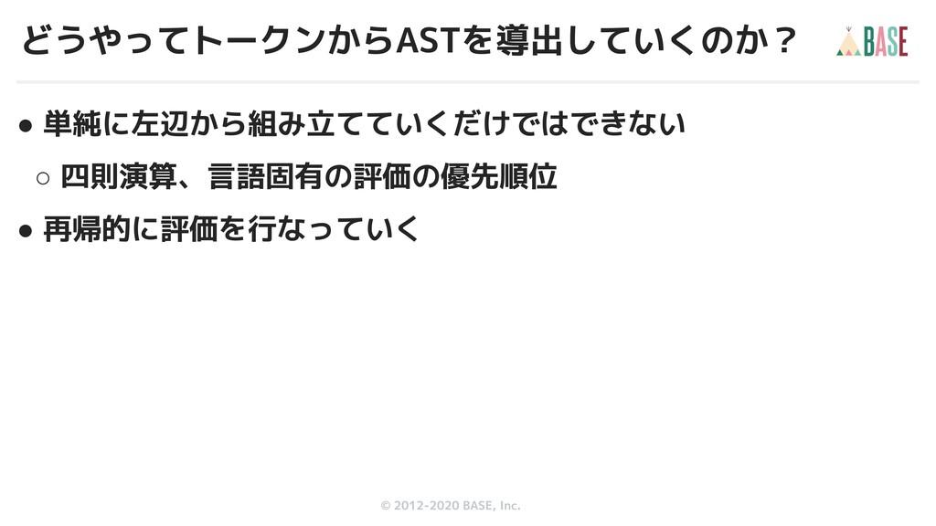 © 2012-2019 BASE, Inc. © 2012-2020 BASE, Inc. ●...