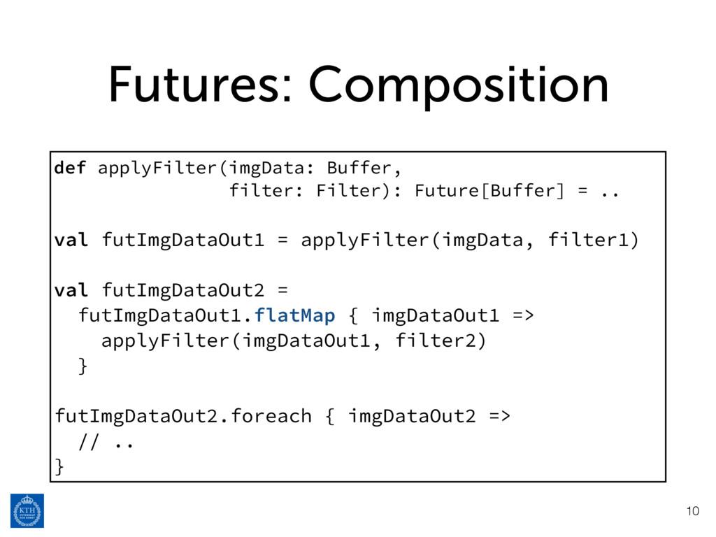 Futures: Composition 10 def applyFilter(imgData...