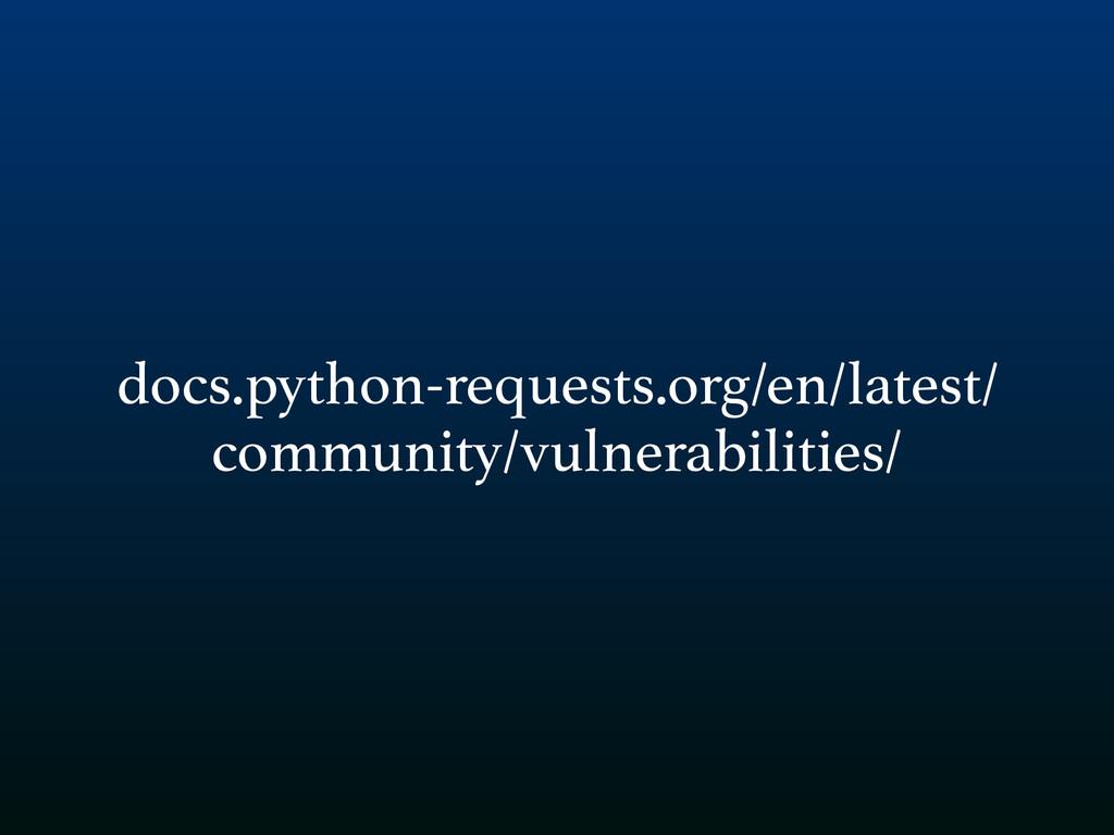 docs.python-requests.org/en/latest/ community/v...