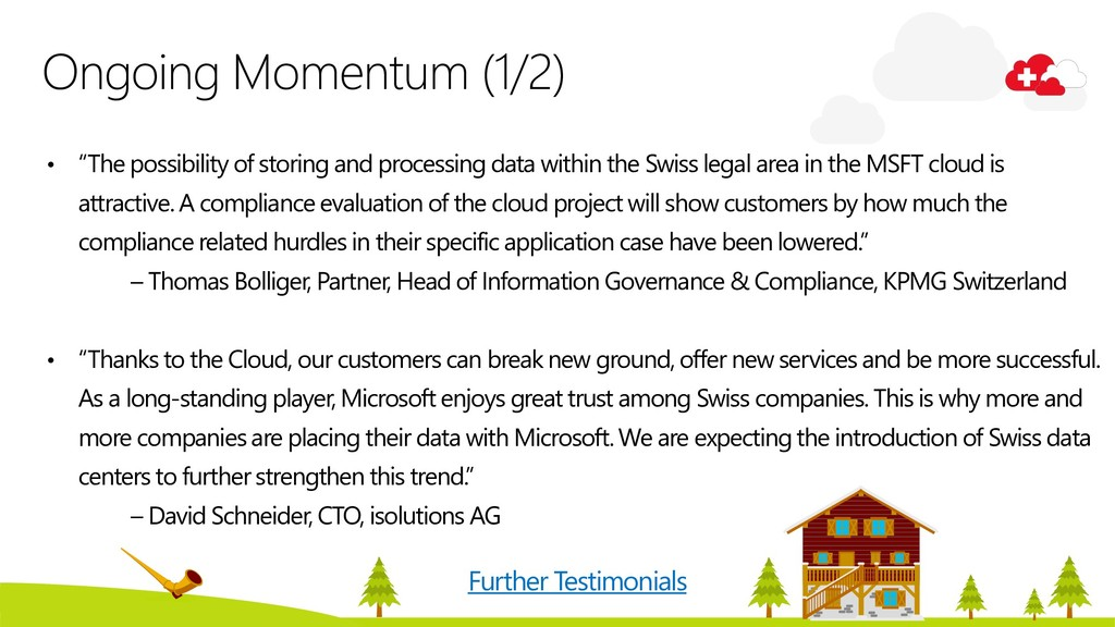 """Ongoing Momentum (1/2) • """"The possibility of st..."""
