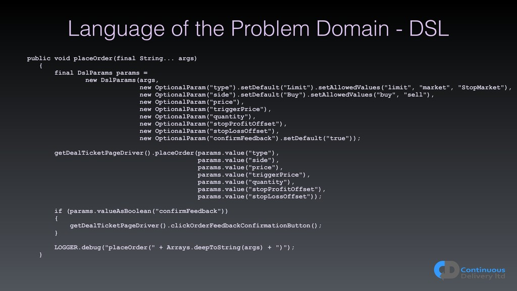 Language of the Problem Domain - DSL public voi...