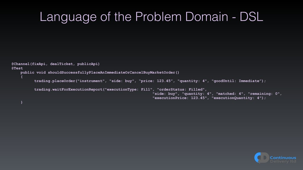 Language of the Problem Domain - DSL @Channel(f...