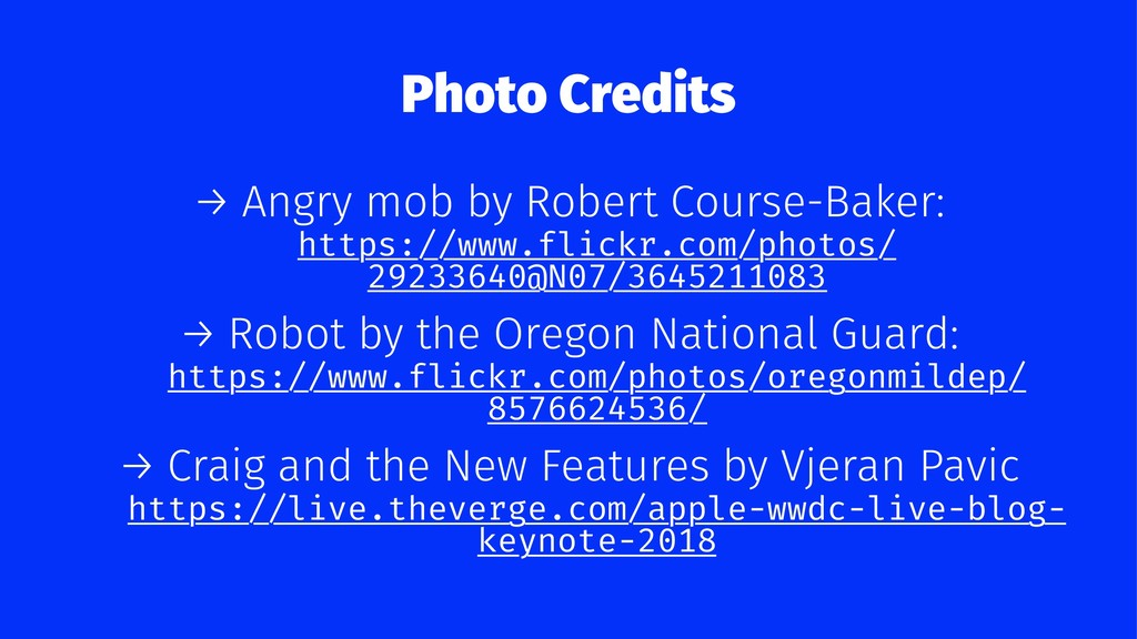 Photo Credits → Angry mob by Robert Course-Bake...