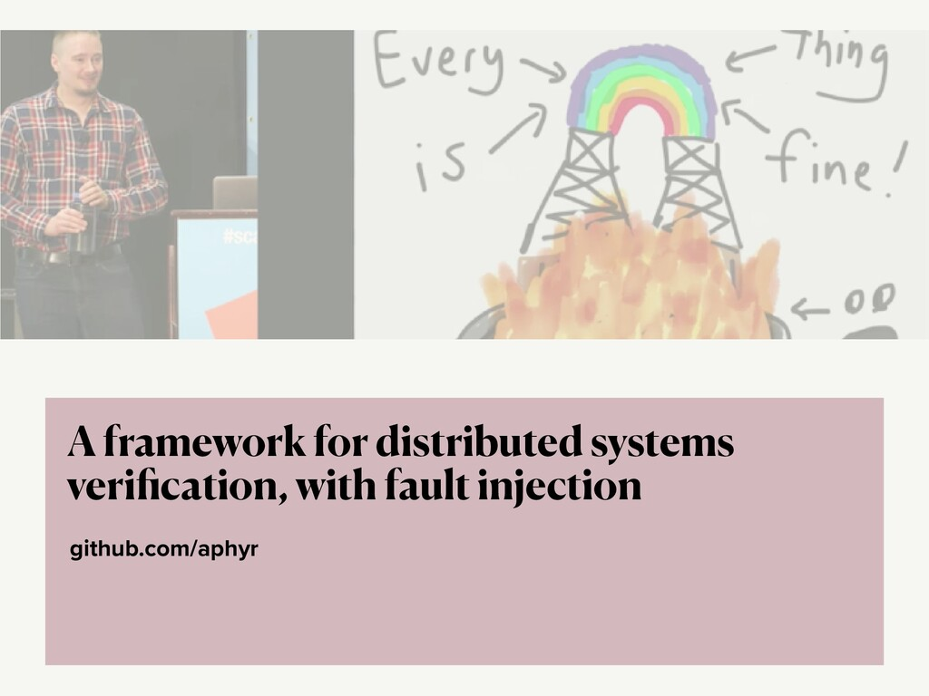 github.com/aphyr A framework for distributed sy...