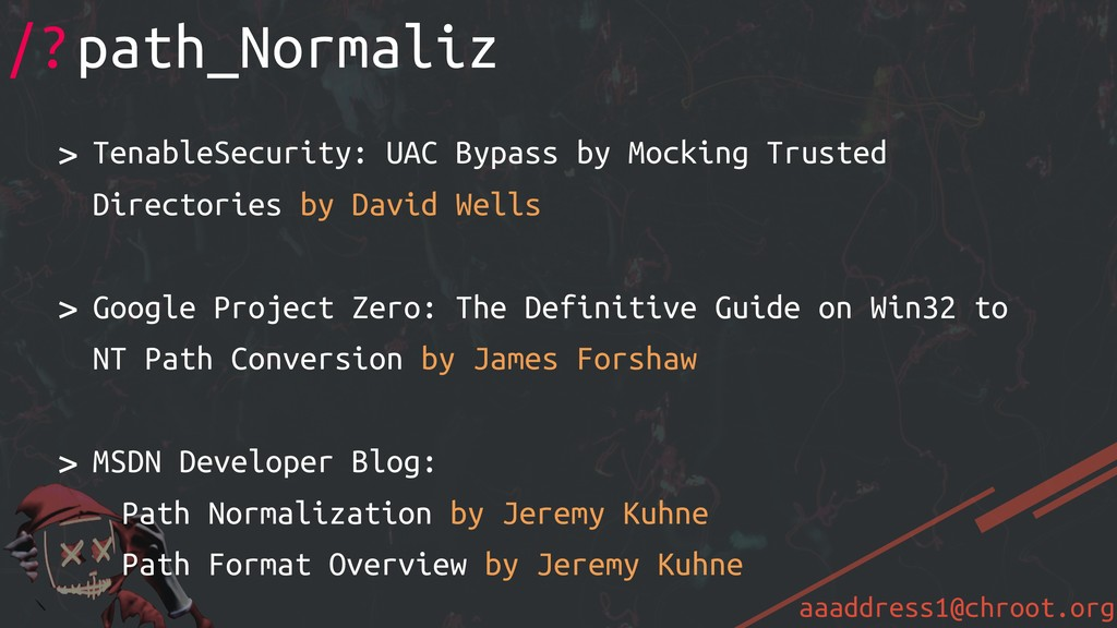 aaaddress1@chroot.org > TenableSecurity: UAC By...