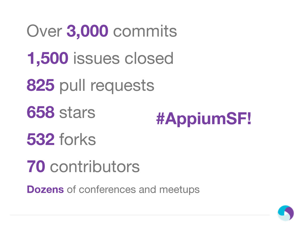 Over 3,000 commits 658 stars 532 forks 70 contr...