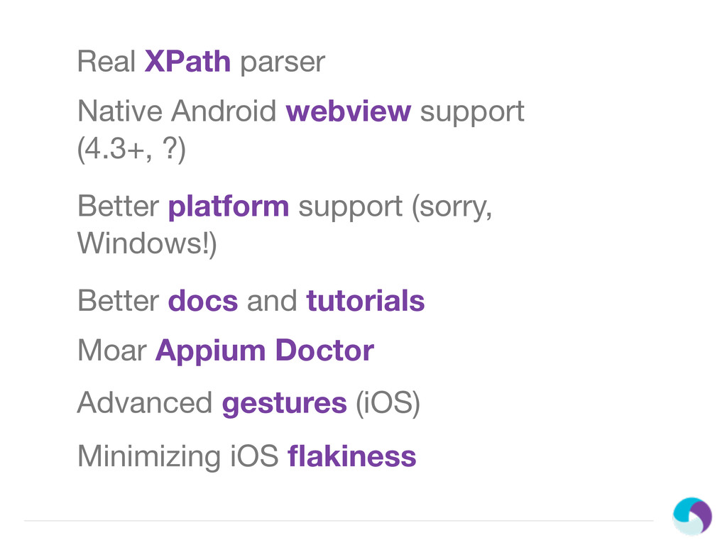 Real XPath parser Native Android webview suppor...