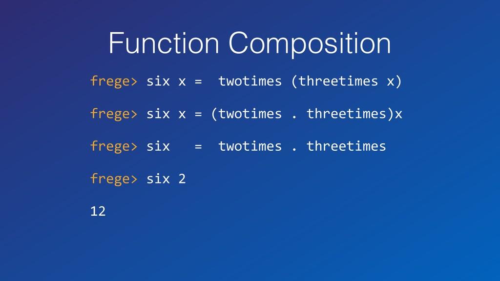 Function Composition frege> six x = twotimes (t...