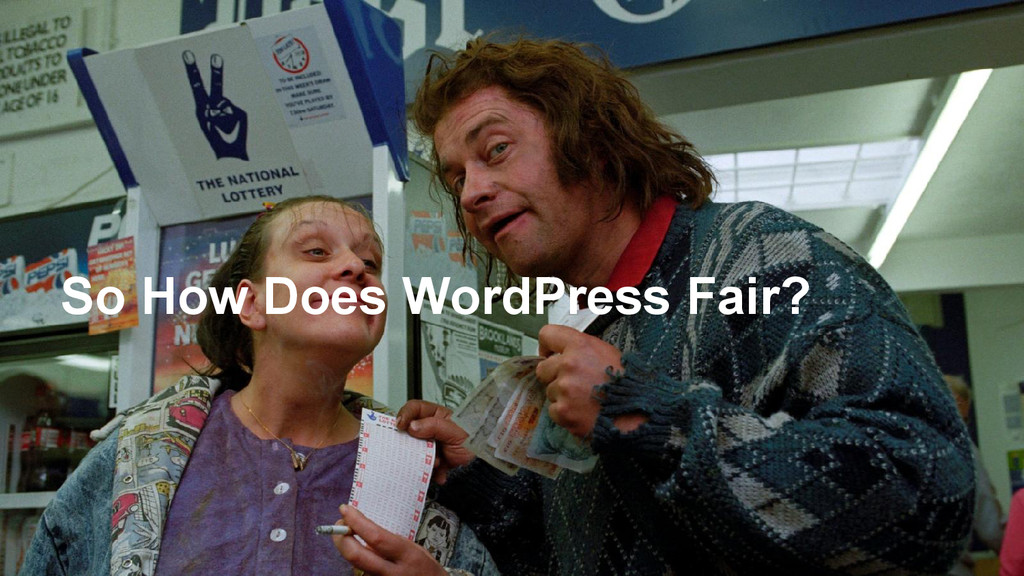 So How Does WordPress Fair?