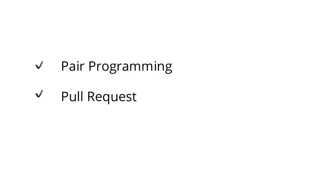 Pair Programming Pull Request