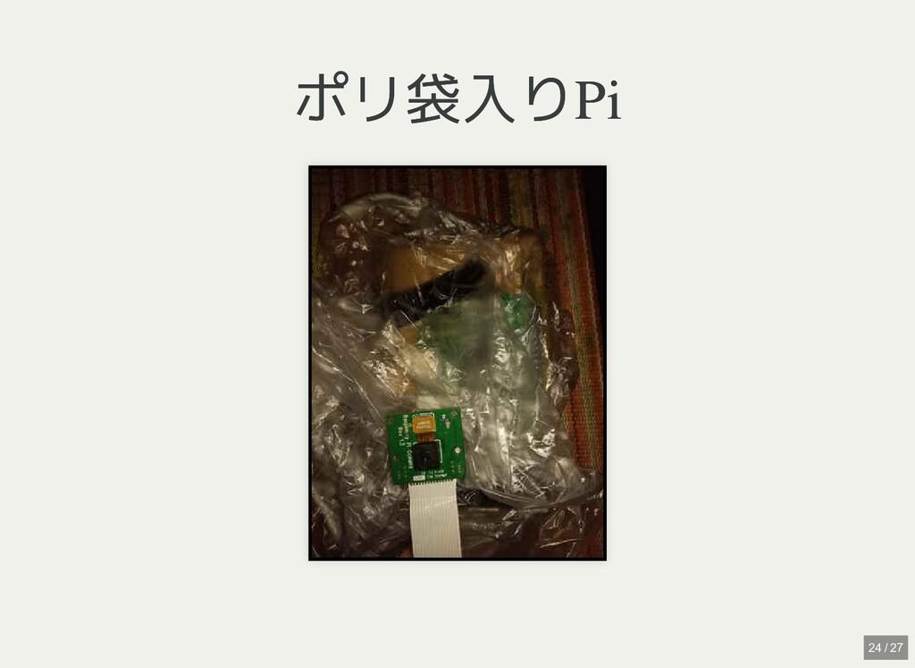 ポリ袋入りPi ポリ袋入りPi 24 / 27