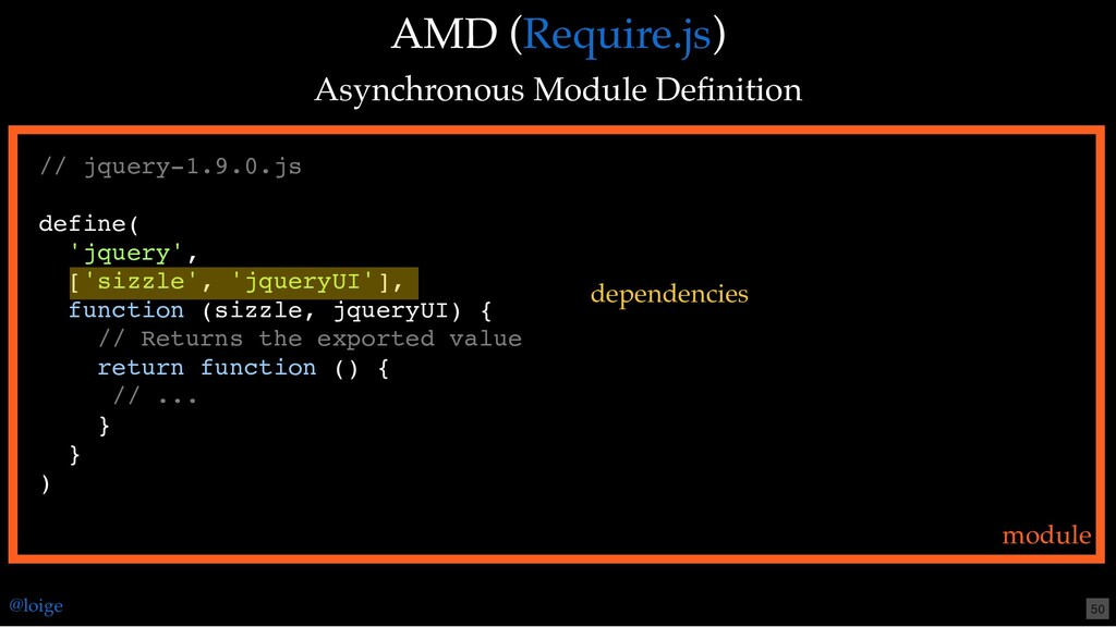 AMD ( ) Asynchronous Module Definition Require.j...
