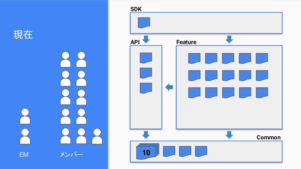 現在 EM SDK API Feature Common メンバー 10