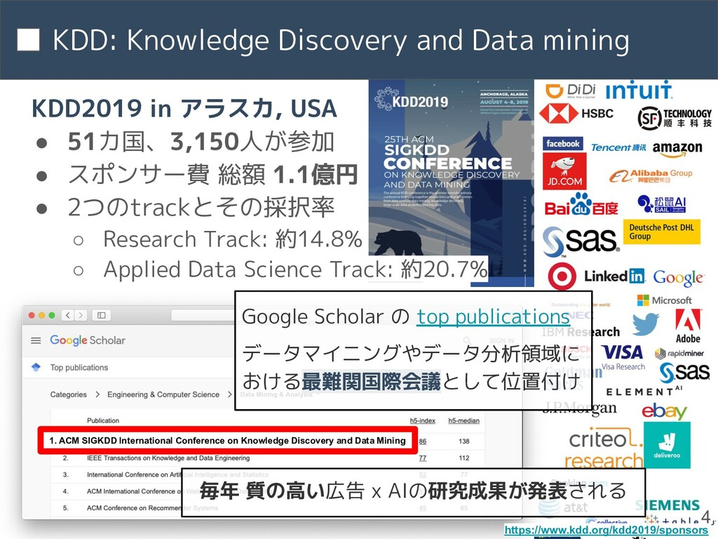 KDD: Knowledge Discovery and Data mining 4 1. A...