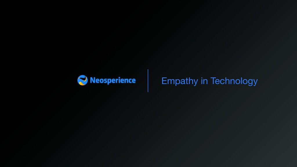 Empathy in Technology