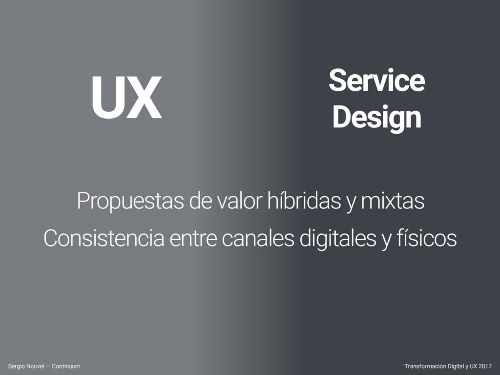 Transformación Digital y UX 2017 Sergio Nouvel ...