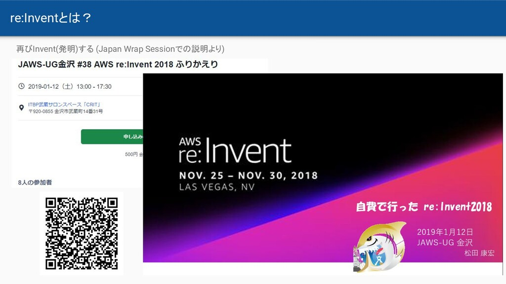 re:Inventとは? 再びInvent(発明)する (Japan Wrap Session...