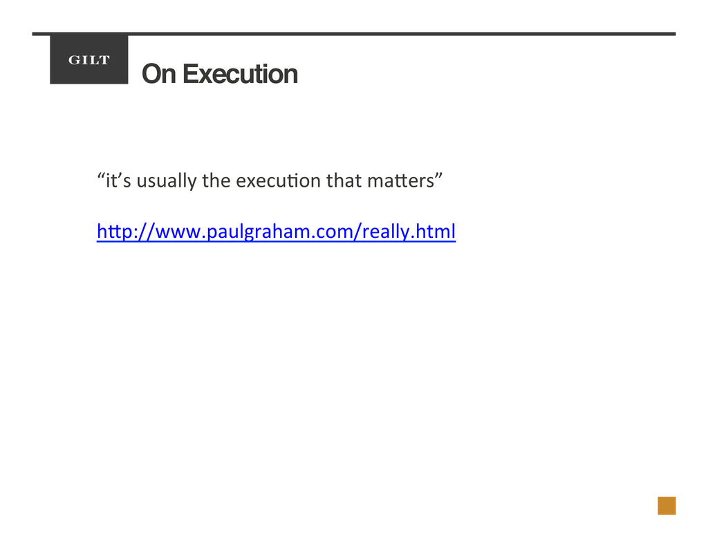 "On Execution! ""it's	