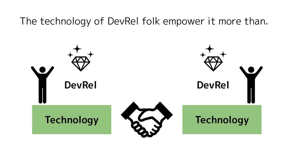 The technology of DevRel folk empower it more t...