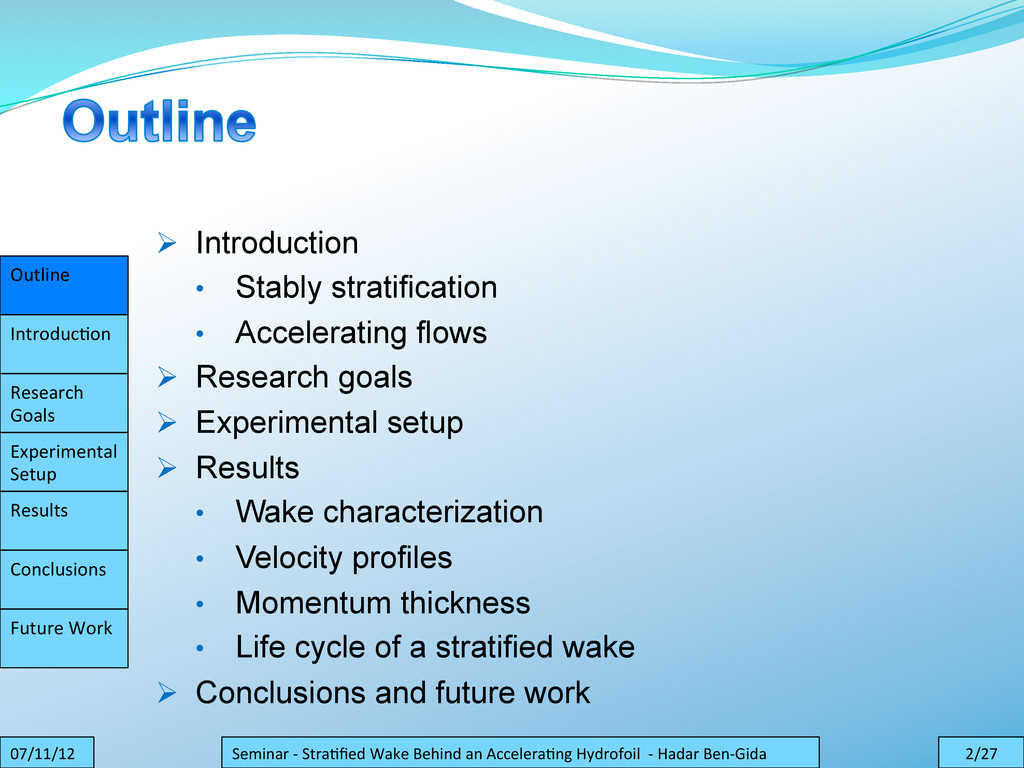 Outline    Introduc.on    Research...