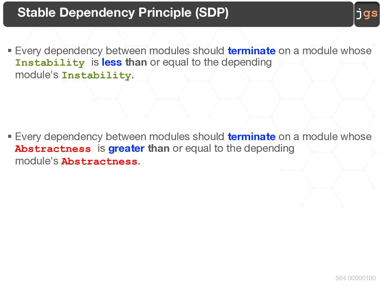 jgs 564 00000100 MDD Development Process