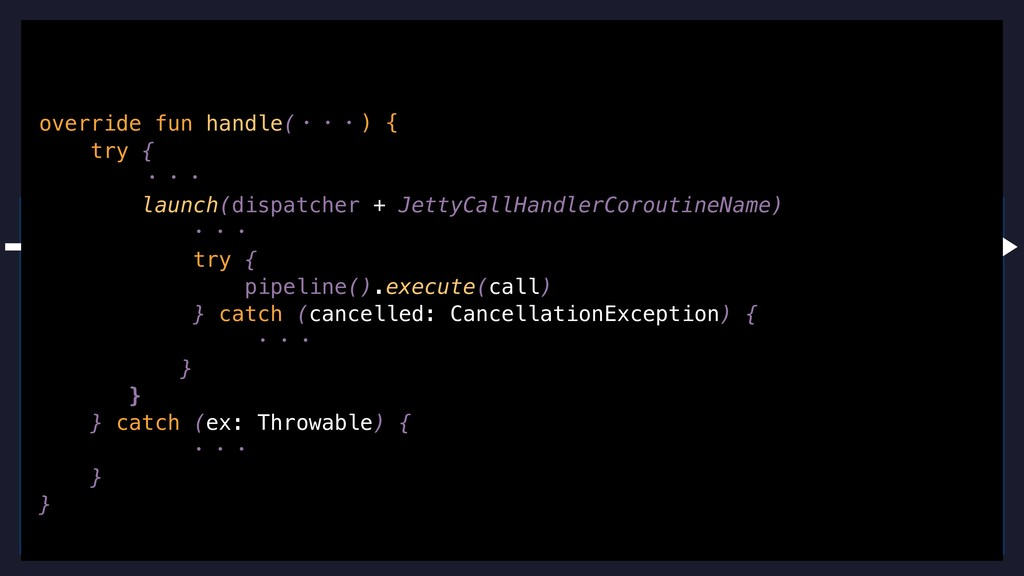 { asyncFun(context) } { getAuth(userID) } { log...
