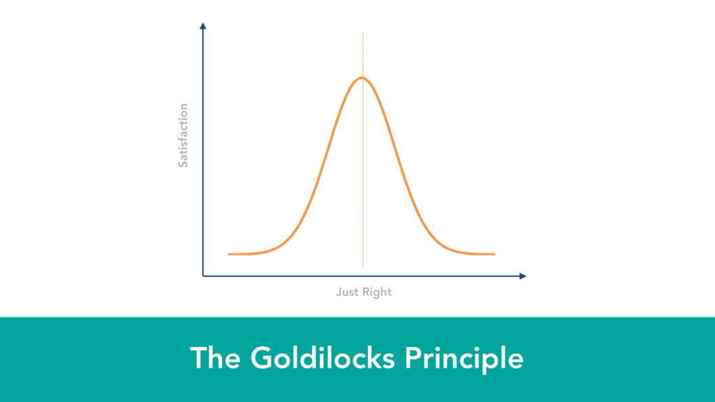 The Goldilocks Principle Just Right Satisfaction