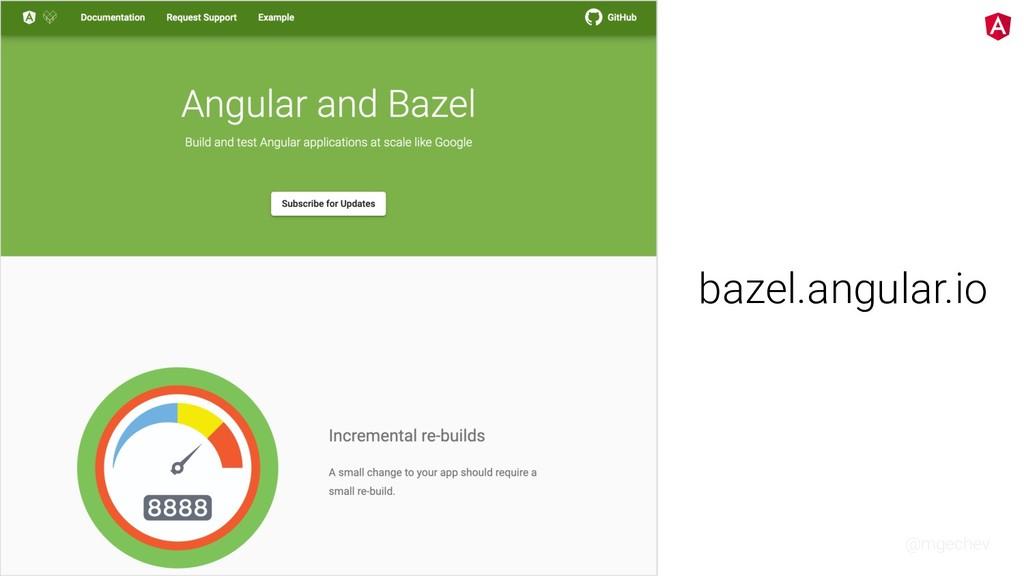 @mgechev bazel.angular.io