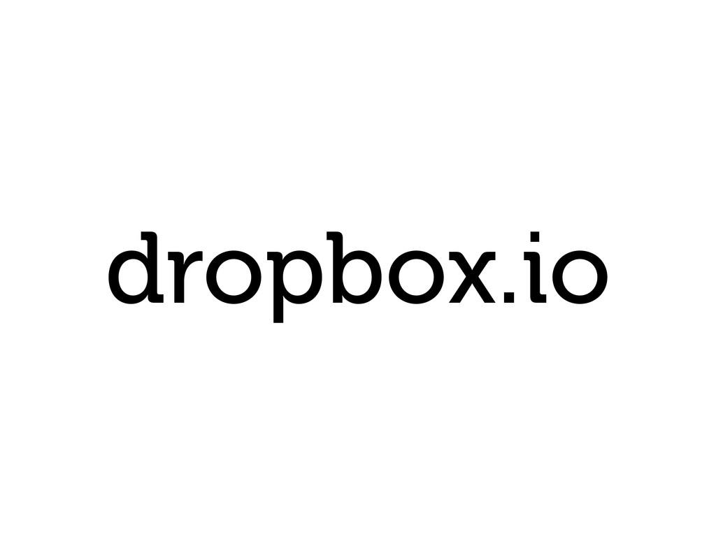 dropbox.io