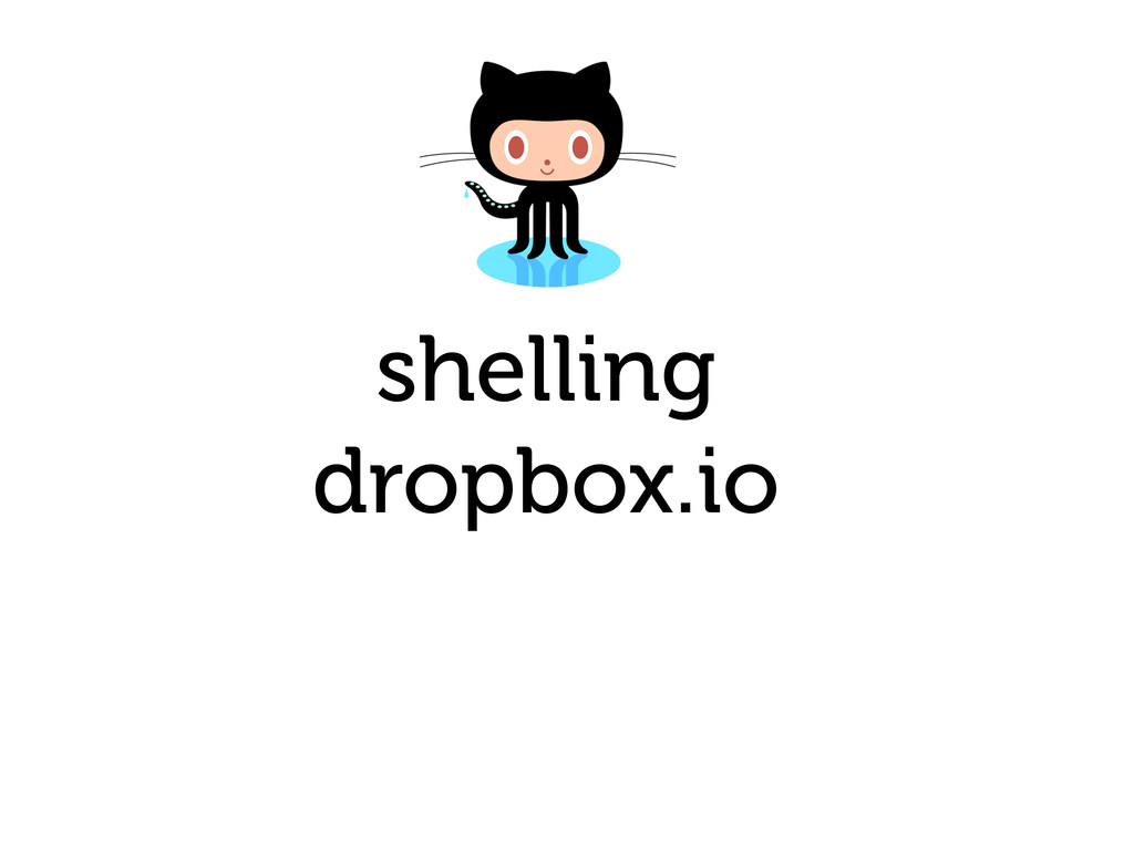 shelling dropbox.io
