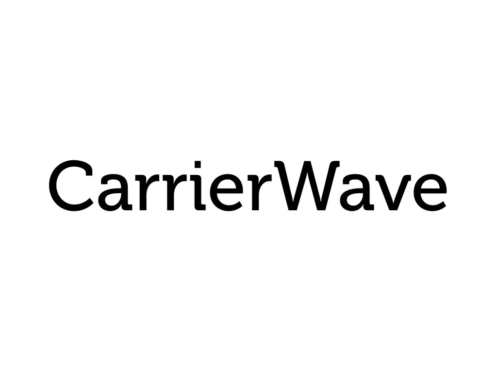 CarrierWave