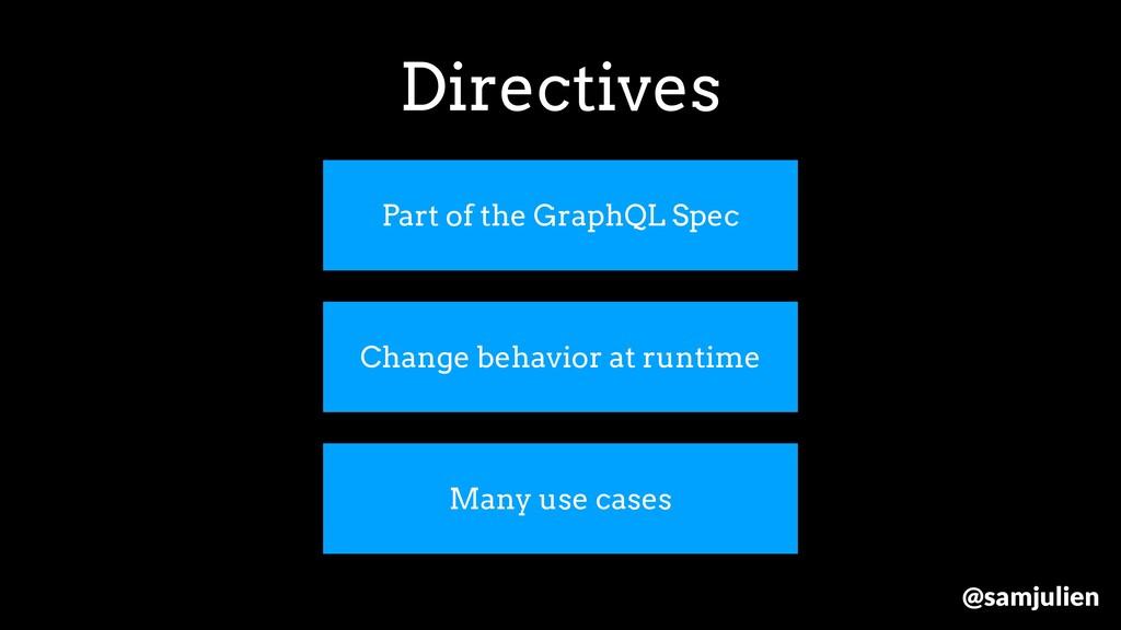 Part of the GraphQL Spec Change behavior at run...