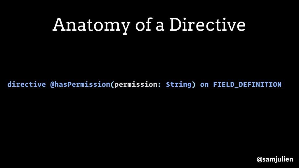directive @hasPermission(permission: String) on...