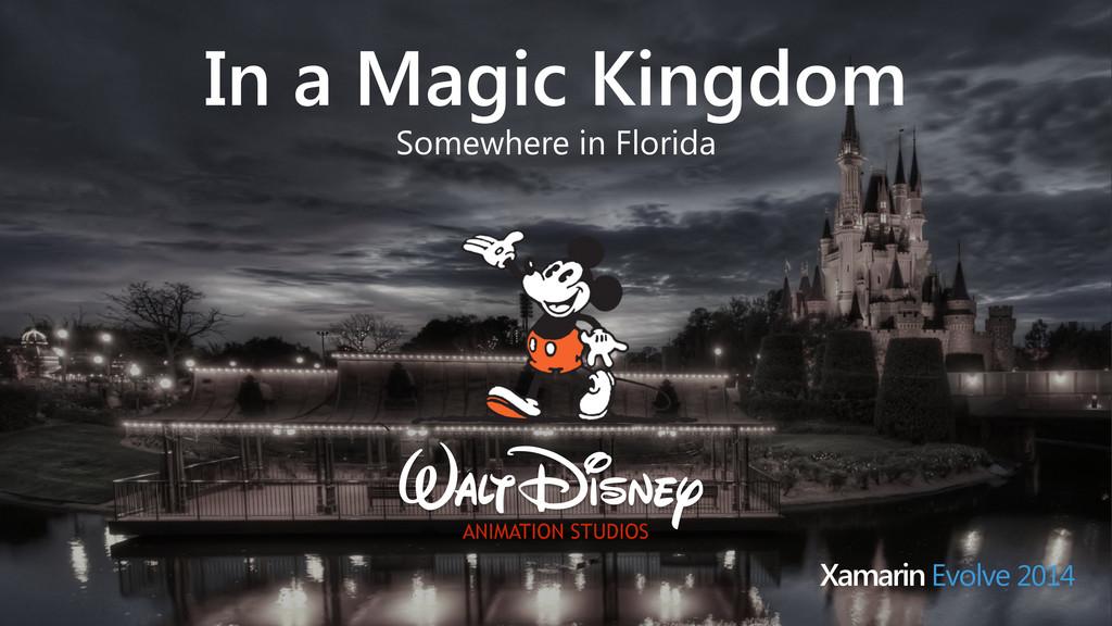 In a Magic Kingdom Somewhere in Florida Xamarin...