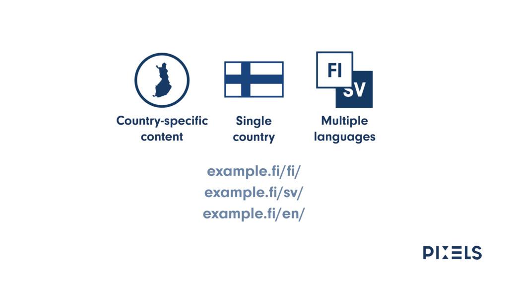 example.fi/fi/ example.fi/sv/ example.fi/en/ Single...
