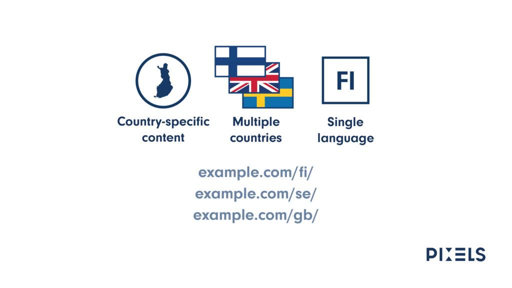 example.com/fi/ example.com/se/ example.com/gb/ ...