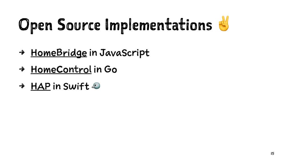 Open Source Implementations ✌ 4 HomeBridge in J...